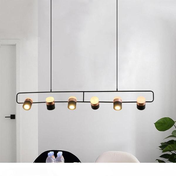 Modern 360 Degrees Rotate Pendant Lights Nordic Originality Vintage Pendant Lamp 90V-260V Cord Droplight Coffee Villa Hanglamp