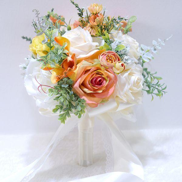 Elfenbein-Bouquet nur