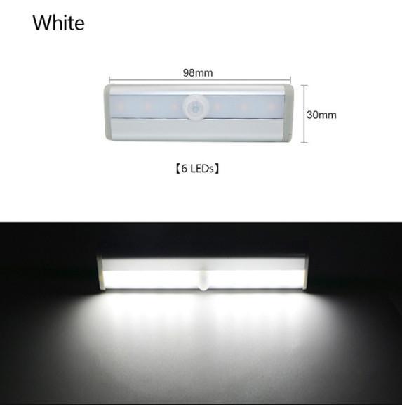 6 leds white