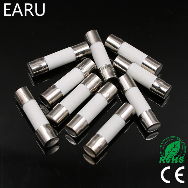 Fuses 10pcs Ceramic Fuse 5mm x 20mm Slow Blow T 0.5 1 2 3 4 5 6 8 10 13 15A 16A