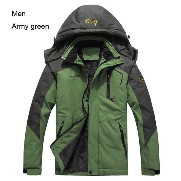 Männer grün
