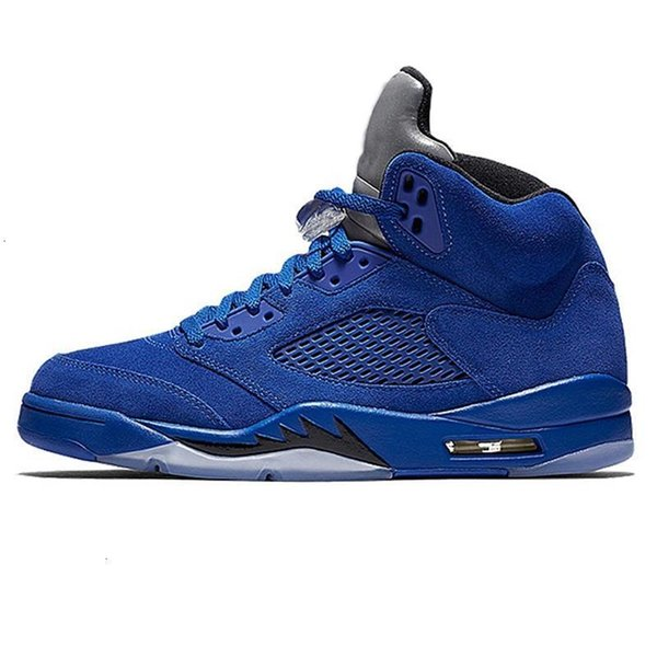 suede_-hombres azules US8 = EUR41