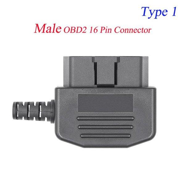 Conector macho