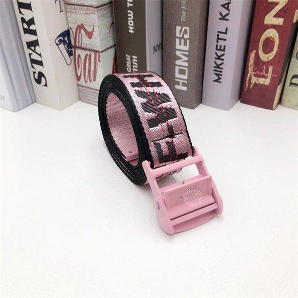 hebilla de cinturón de color rosa rosa