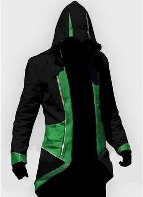 Noir et vert Assassin # 039; s Creed