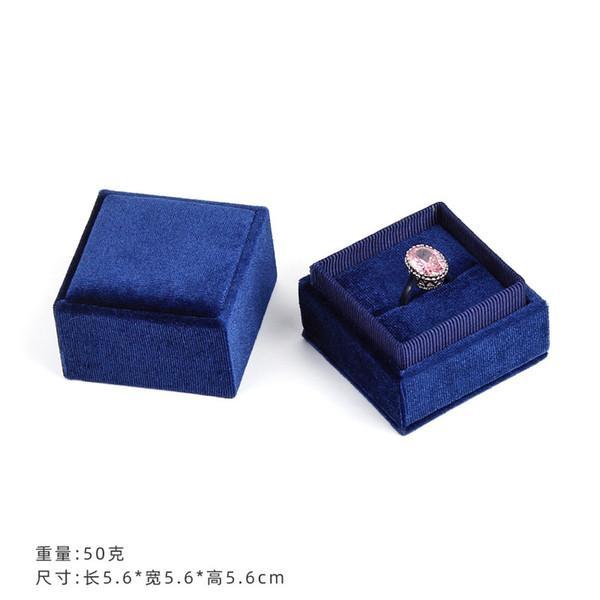 синий цвет 5.6x5.6x5.6cm