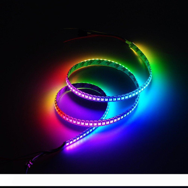 addressable ws2812b pixel strip light individually ws2811 ic built-in rgb dc5v 30 60 144 led m led band led stripe neon light 5m