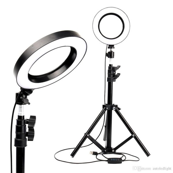 best selling LED Ring Light Photo Studio Camera Light Photography Dimmable Video light for Makeup Selfie with Tripod Phone Holder