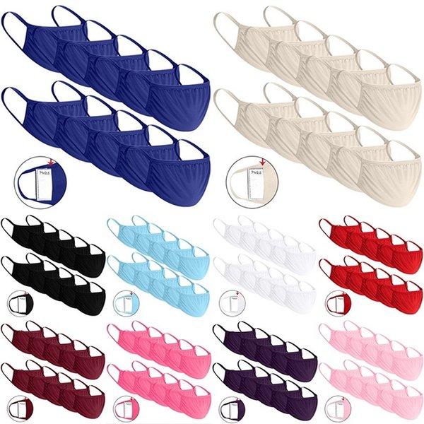9 de estilo de algodón color de la mezcla