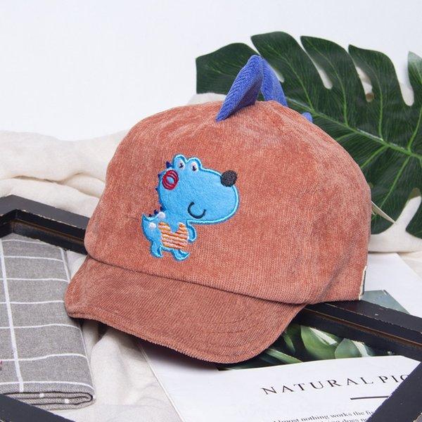 Маленький Динозавр-кирпич красный