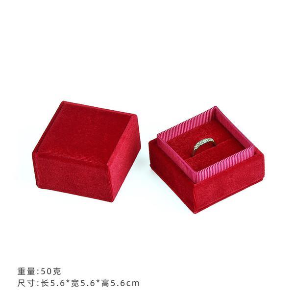 красный цвет 5.6x5.6x5.6cm
