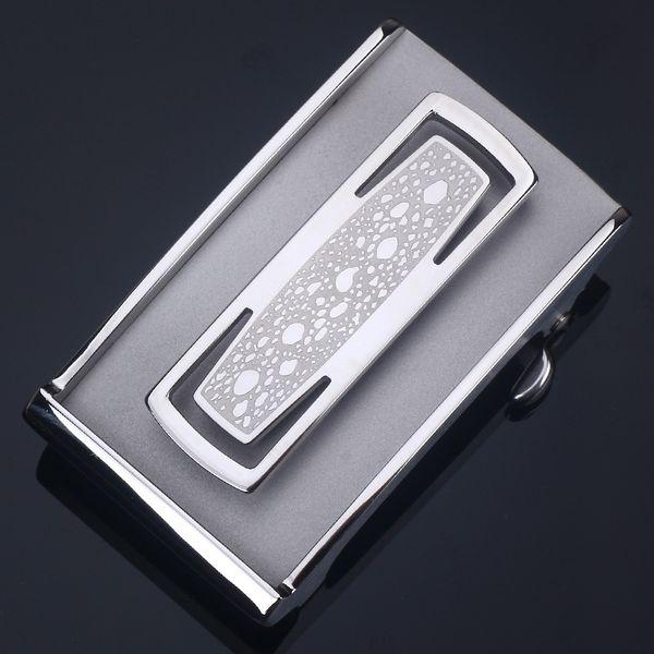 Toothless fibbia argento (adatto per 3.
