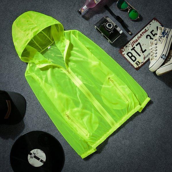 F001 fluorescenza verde