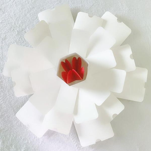 White hexagon CHINA