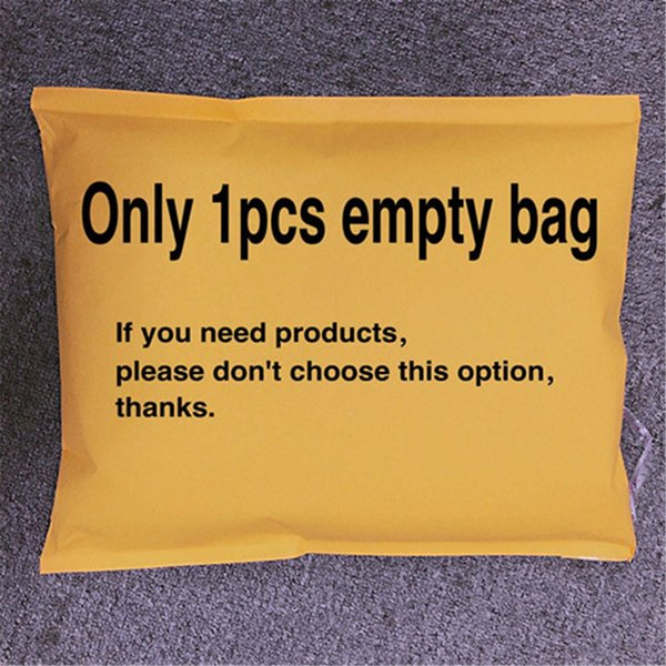 seulement 1pcs sac vide