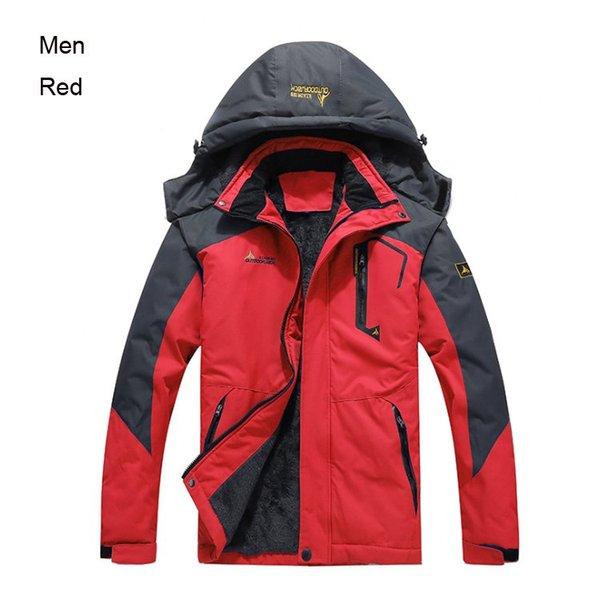 Männer rot