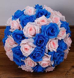 Rose Clair Bleu Foncé