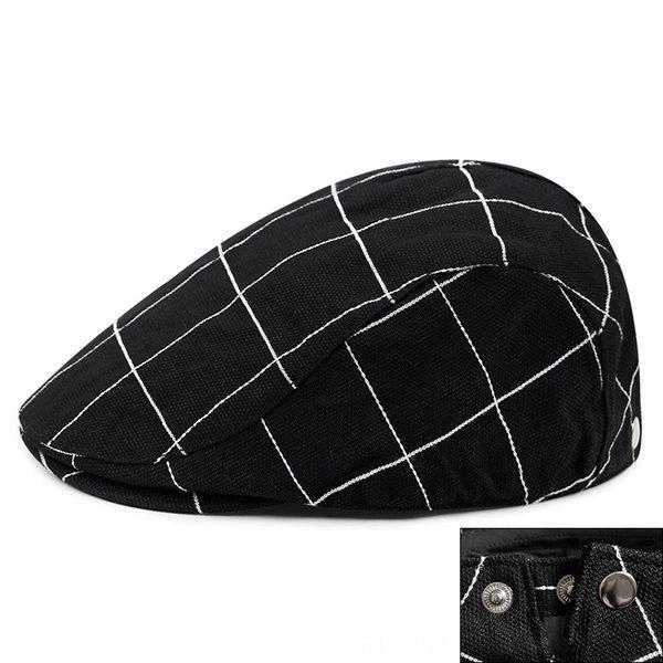 plaid-Black -Regolabile per la testa 56-59cm