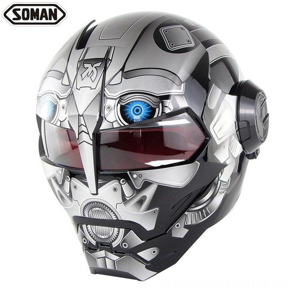 robot cinza brilhante