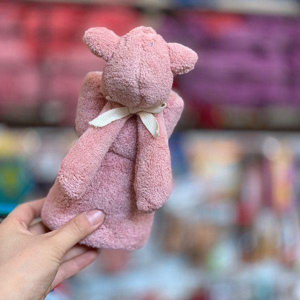 Бегемот-розовый 43x43cm