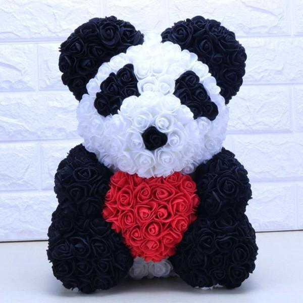 панды с сердцем