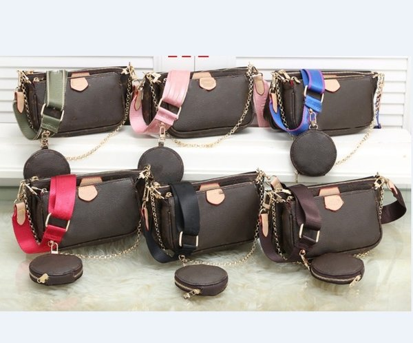best selling 2020 new excellent Quality style Fashion Women Luxury bags lady PU leather handbags Brand bags cross body bag coin purse free shipping