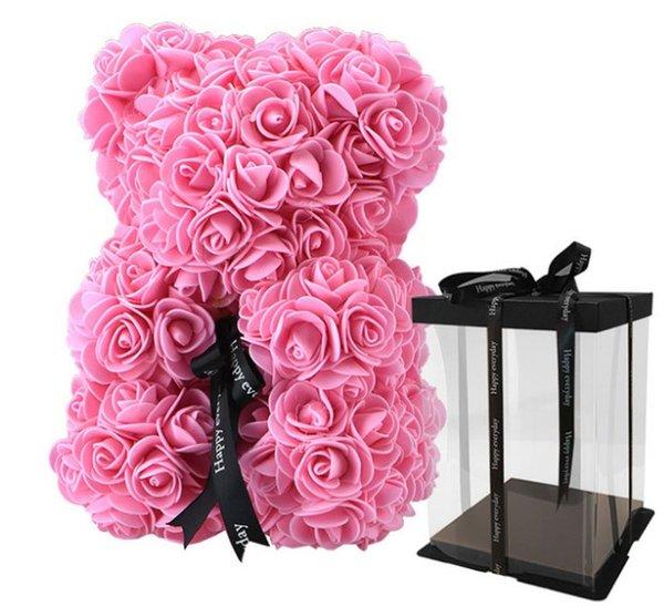 25 cm rosa con scatola