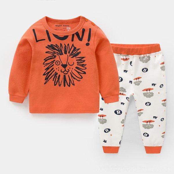 U11155 León anaranjado totalmente serigrafiadas Pantalones
