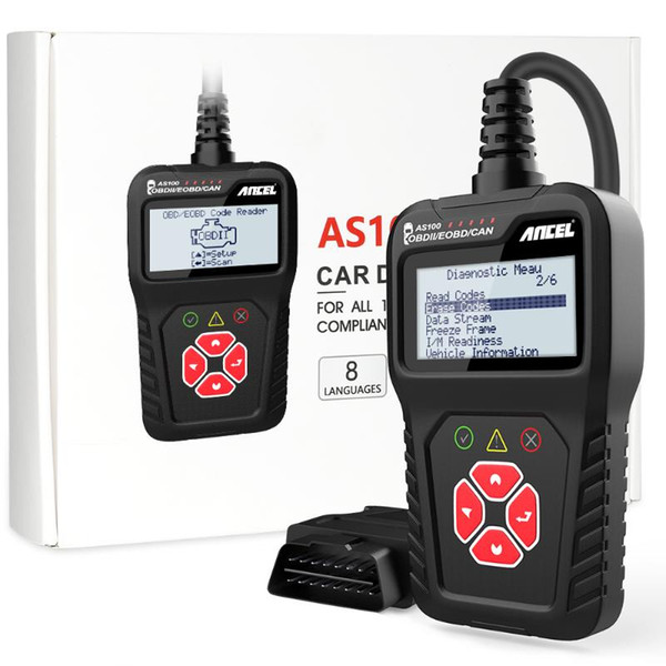 CHINA AS100 OBD2 Scanner