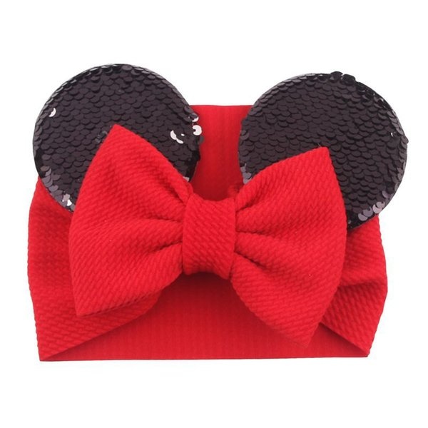black red Bow