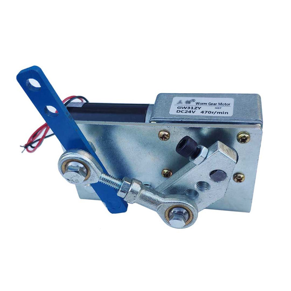 best selling DC 12V Reciprocating Motor High Torque Automatic Wobbler Machine 32 60 92 Degress with Brush DC Reciprocating Linear Motor