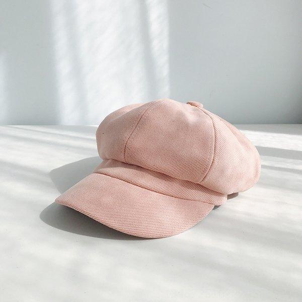 Twill solido Colore Rosa-55-57cm