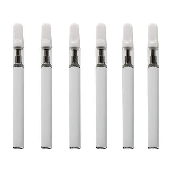 White, en tubo de PVC