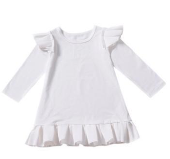 # 4 fliegende Ärmel Mädchenkleider