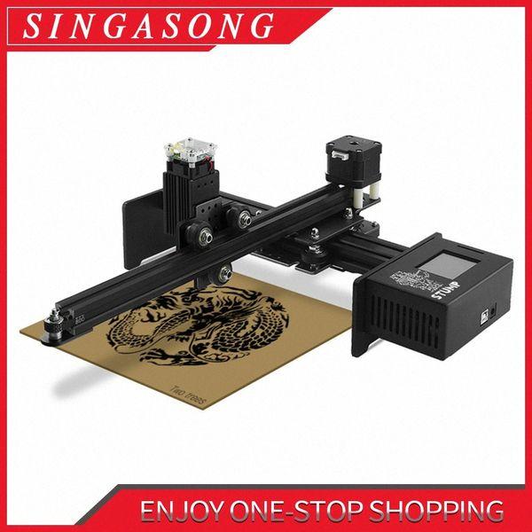 best selling 2500MW CNC Laser Engraver Portable Engraving Carving Machine Mini DIY Laser Mark Printer eZ9G#