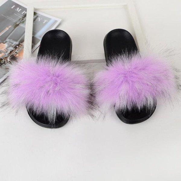 Фиолетовый енот