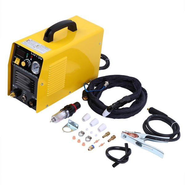 best selling Portable Electric Digital Plasma Cutter 50AMP Digital Inverter Cutting 1-12MM Plasma arc cutting machine with free accessories