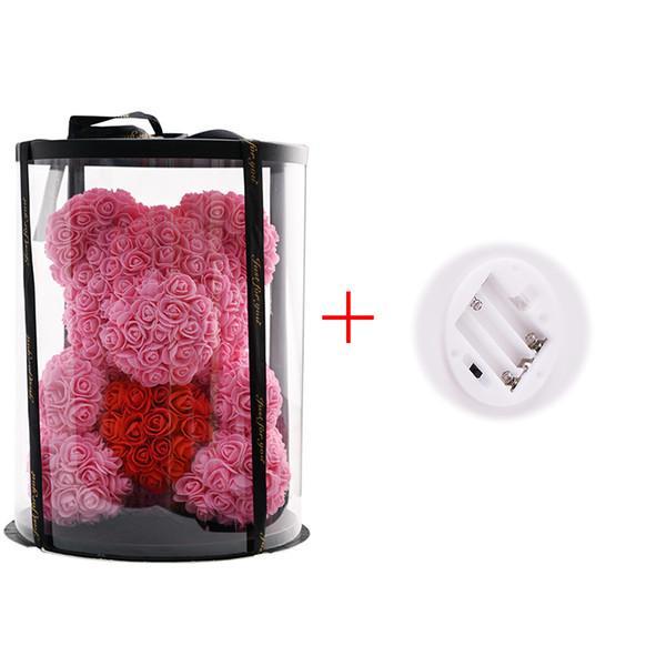 Rosa chiaro LED rosso