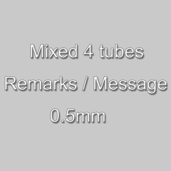 0.5mm mixed
