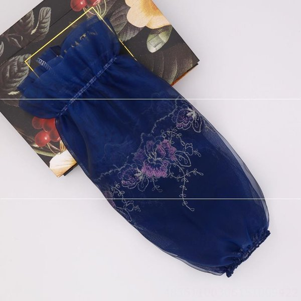 mesh transparent bleu marine