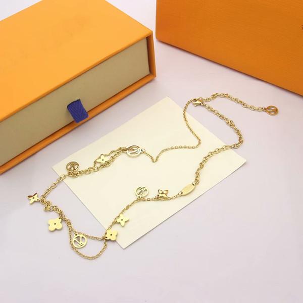 Or jaune / collier