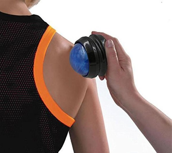 best selling NEW Back Body Massager Massage Roller Ball Foot Waist Hand Therapy Massage Roller Relax Ball Manual Health Care Tools Epacket