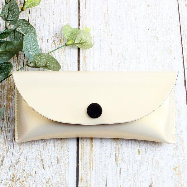 white bright leather box