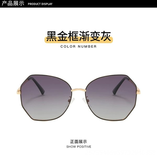 Black Gold Frame Gradient Gray