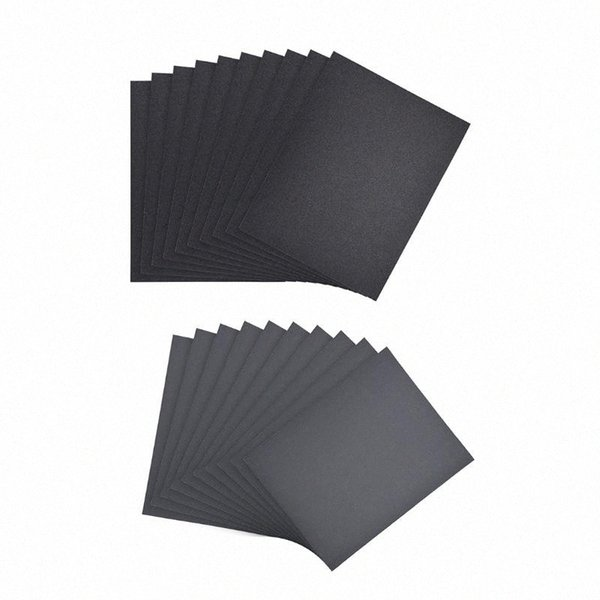 best selling uxcell Waterproof Sandpaper Wet Dry Sand Paper Grit for Wood Furniture Finishing Metal Automotive Polishing 11 x 9inch 10pcs 0OFS#