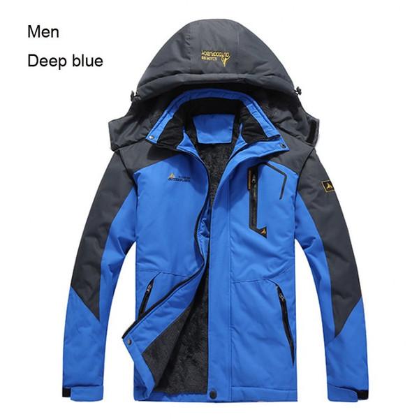 Männer blau