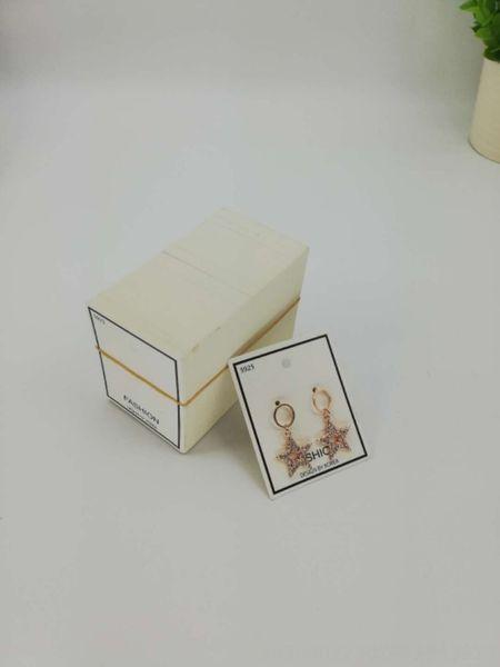200 Avrupa ve Amerikan küpe kartları