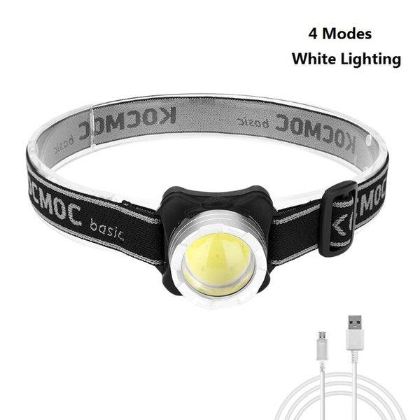 4 Modes White Light