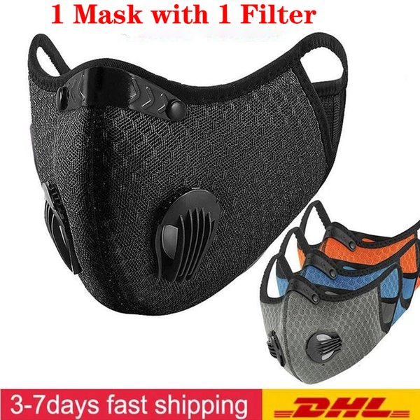 best selling Cycling Face Mask Activated carbon Face Masks Anti-fog Windproof Dust-proof Breathable Sunscreen Outdoor Sports Cycling Face Masks FY9060
