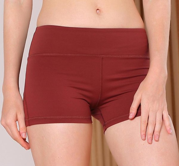 Brown Shorts rouges
